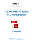 Basic Principles of Communication PDF Download Course