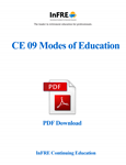 Modes of Education PDF Download Course