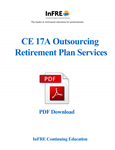 Outsourcing Retirement Plan Services PDF Download course