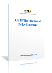 The Investment Policy Statement Print Course